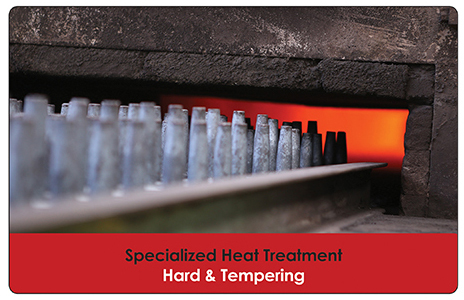 Specialized Heat Treatment Hard & Tempering