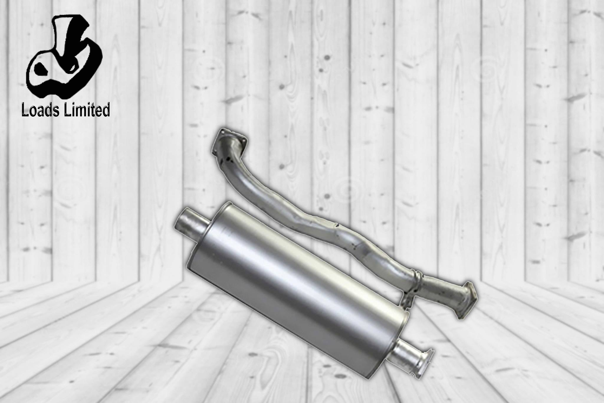 MUFFLER SUB ASSEMBLY/ PIPE ASSEMBLY EXHAUST