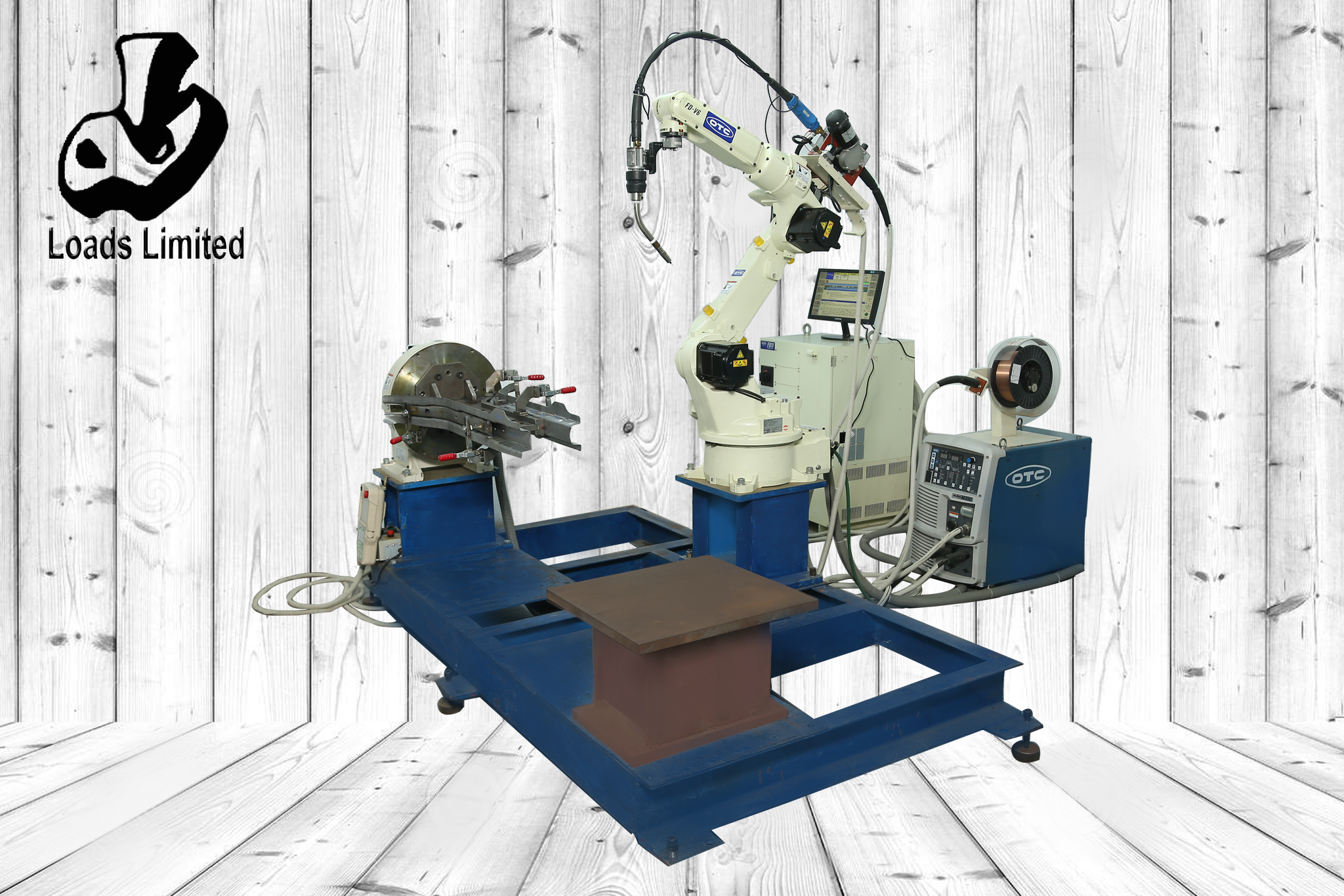 Robot Laser Welding with 6-Axis Robot
