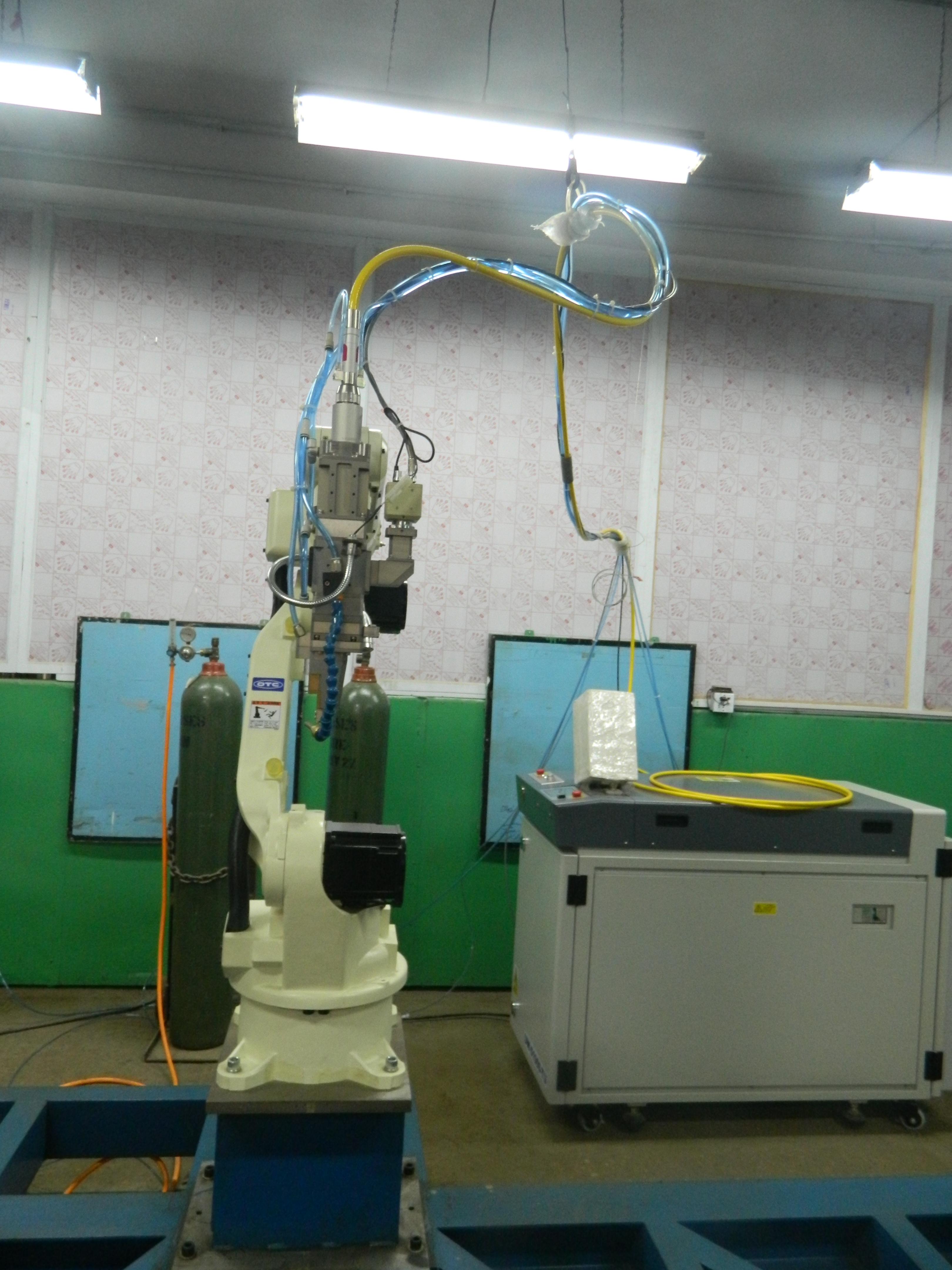 Robot Laser Welding