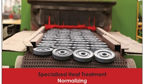 Specialized Heat Treatment Normalizing