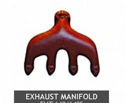 EXHAUST MANIFOLD FIAT 640 640S